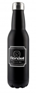 RDS-425 Термос Rondell Bottle Black 0.75 л