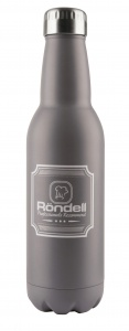RDS-841 Термос Rondell Bottle Grey 0.75 л
